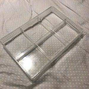 Acrylic Organizing Tray - 6 compartments